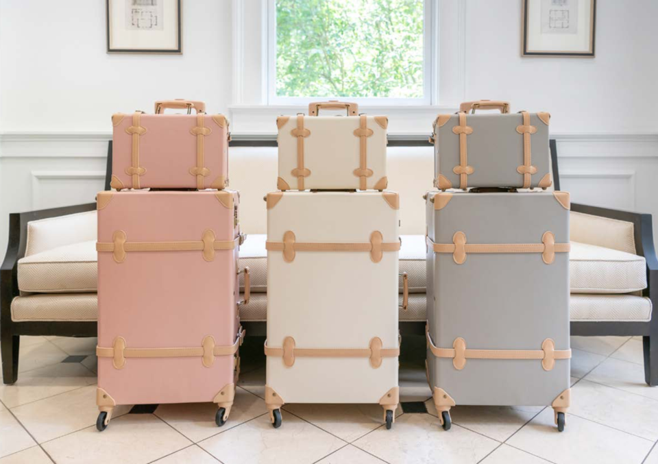 Vintage Inspired Luggage – Mint Home Art and Style