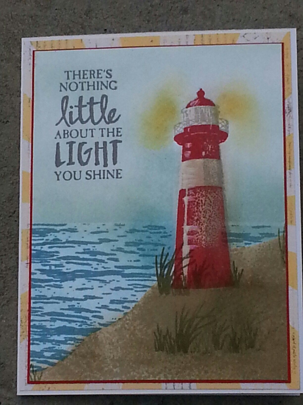 Stampin up occasions 2017 high tide handmade cards stampin up occasions 2017 high tide handmade cards lighthouse kristyandbryce Choice Image