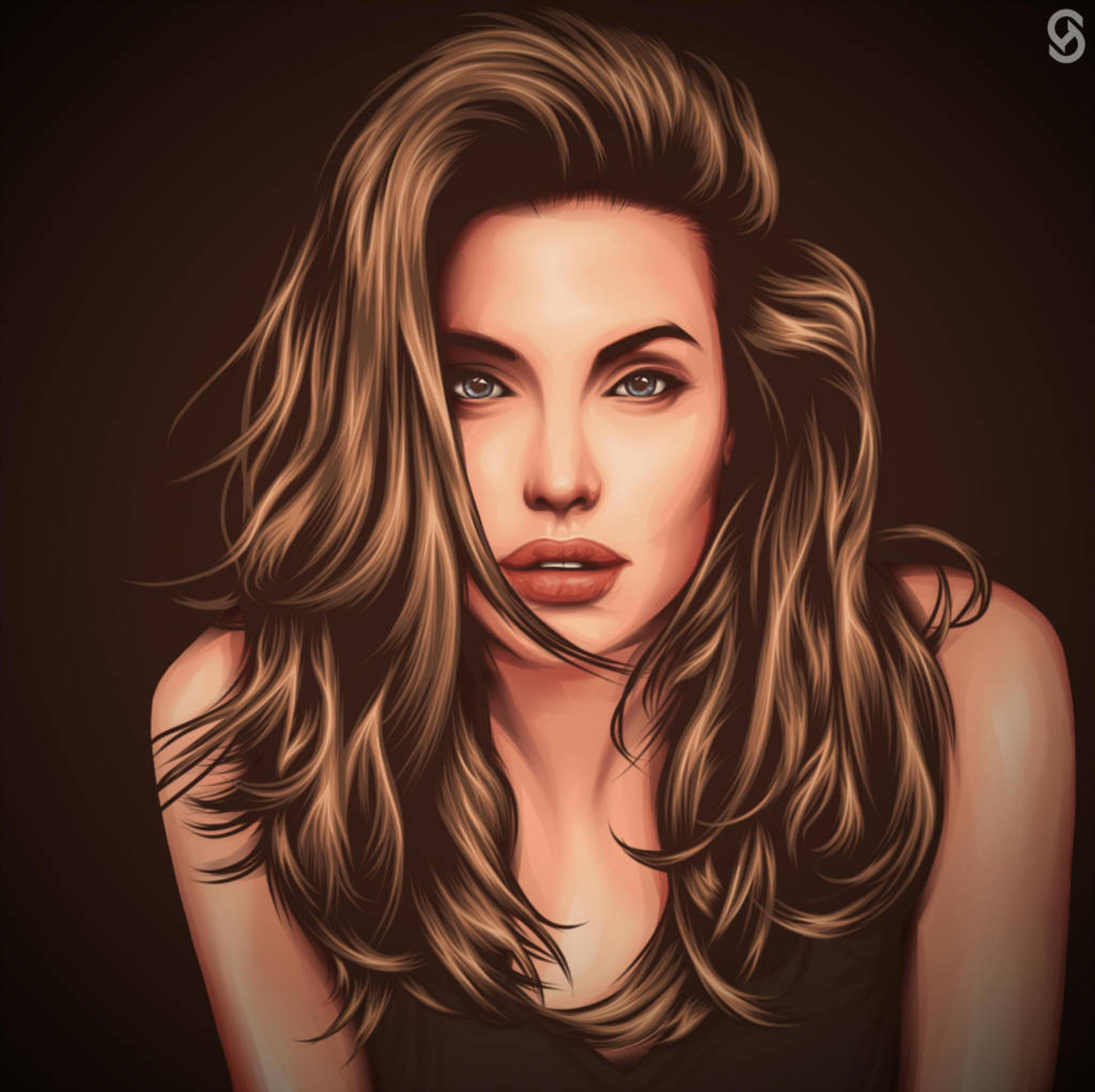 Digital Painting, Digital portrait, Cartoon Illustration, Cartoon Logo, Cartoon Portrait, Gift idea