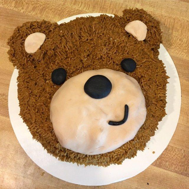 24+ Pretty Picture of Teddy Bear Birthday Cake #teddybear