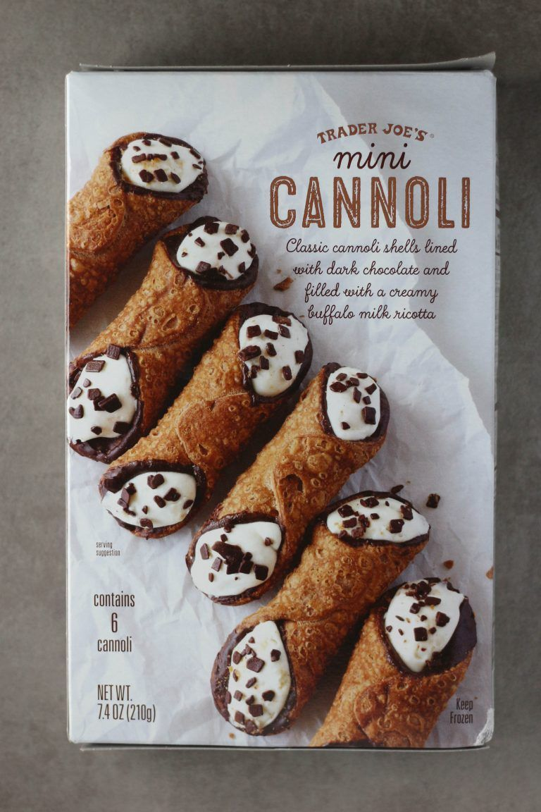 Trader Joes Mini Cannoli