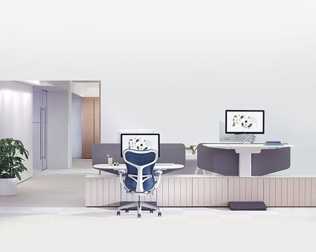 Workstations Designed For Collaboration, Modeled On Friendly Neighborhoods