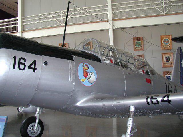 RAZONYFUERZA - FOTOS DE LOS AVIONES HISTORICOS DE LA FACH - Fuerza Aérea de Chile