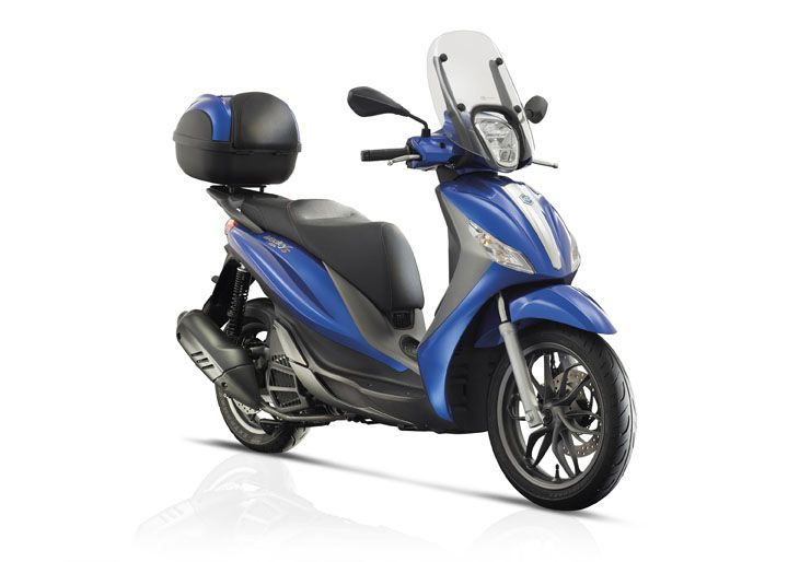 medley of add-ons for new piaggio scooter - http://superbike-news