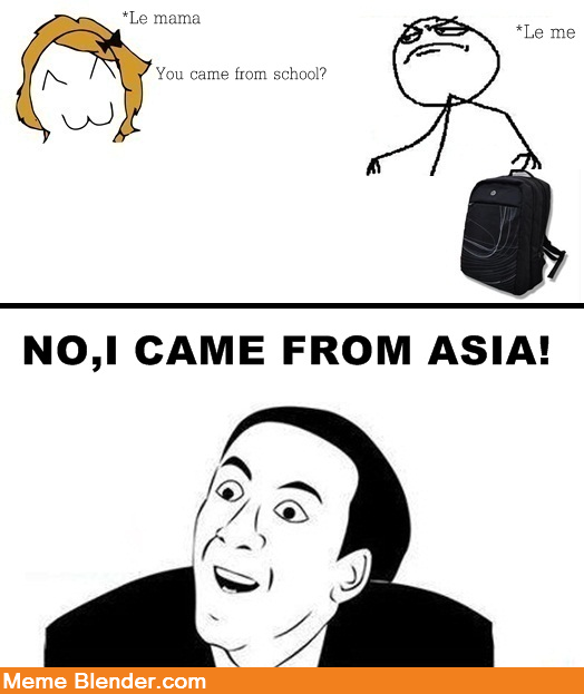 Funny Meme Comics About School : You don t say back from school random funny