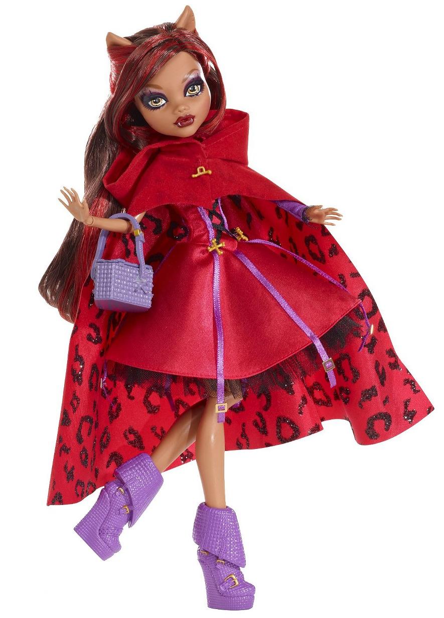 Clawdeen Wolf Caperucita Loba Monster High Dolls