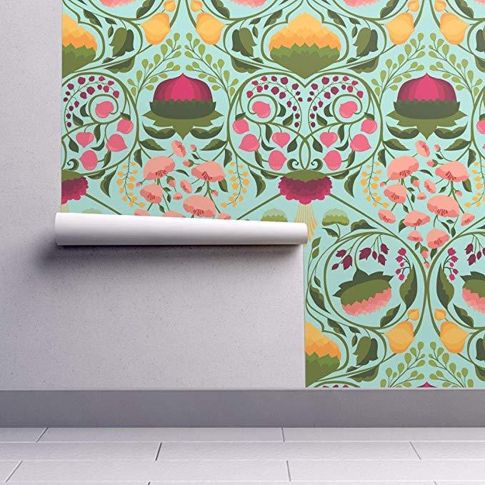 PeelandStick Removable Wallpaper Floral Garden