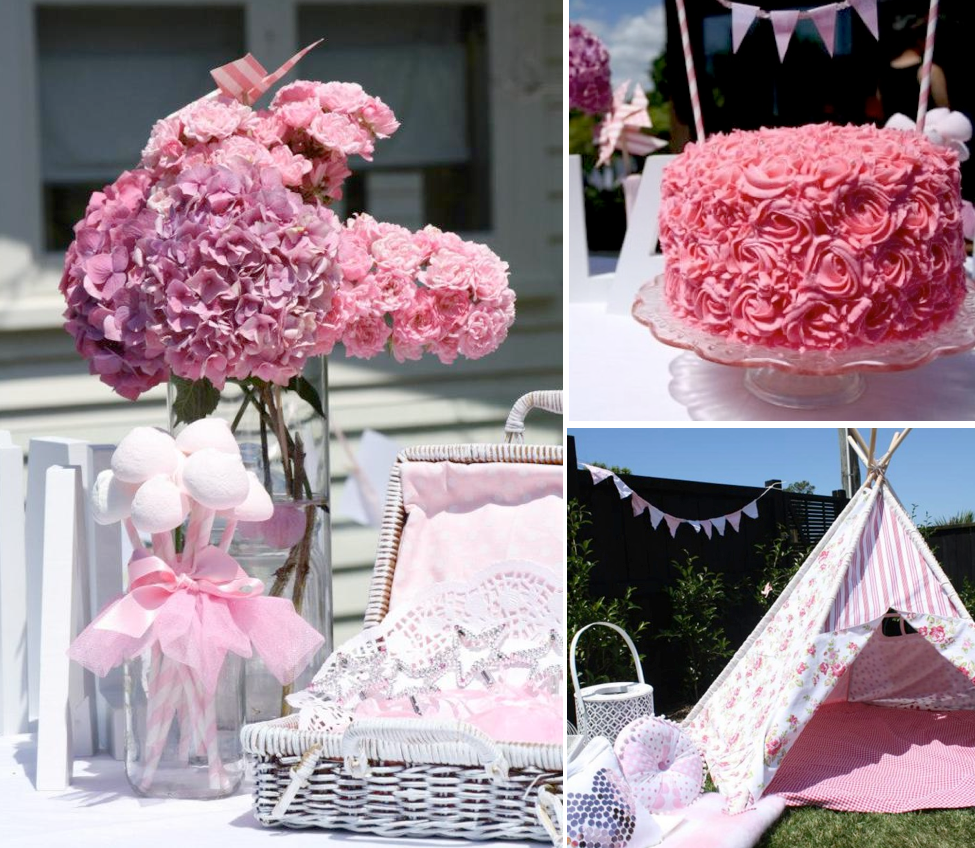 Pink Fairy Themed 1st Birthday Party Via Karas Ideas Fun Things Can Be Used