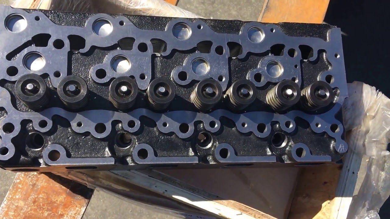 Kubota v2203 complete cylinder head for sale