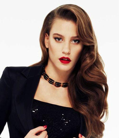 Turkish Actress Serenay Sarikaya Unluler Sac Hot