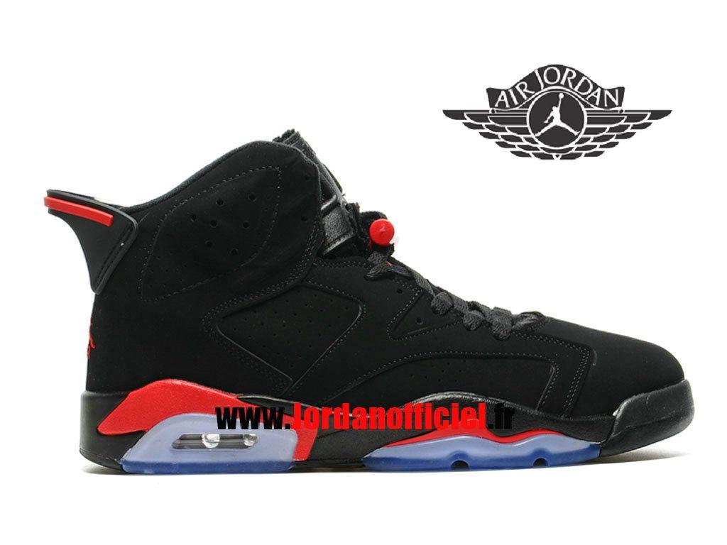 factory price 8169a 25775 Air Jordan 6 Retro - Chaussures Baskets Offciel Pas Cher Pour Homme Varsity  Rouge 384664-