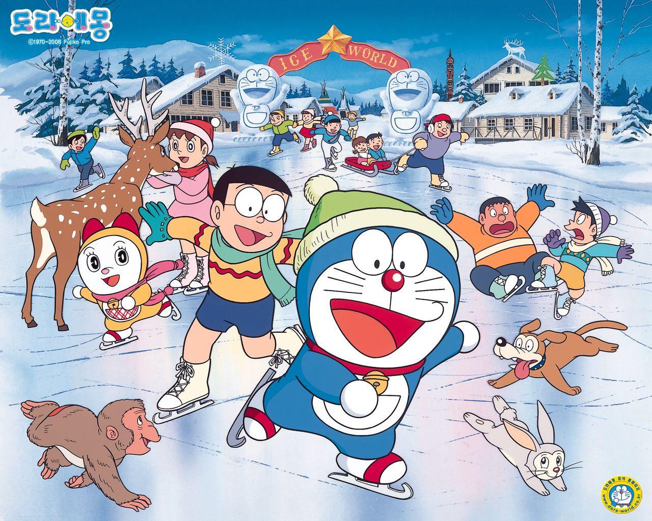 hurray.. | Doraemon wallpapers, Cartoon wallpaper hd, Doraemon