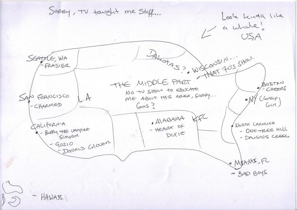 For independence day we asked brits to draw a map of the us from for independence day we asked brits to draw a map of the us from memory gumiabroncs Images