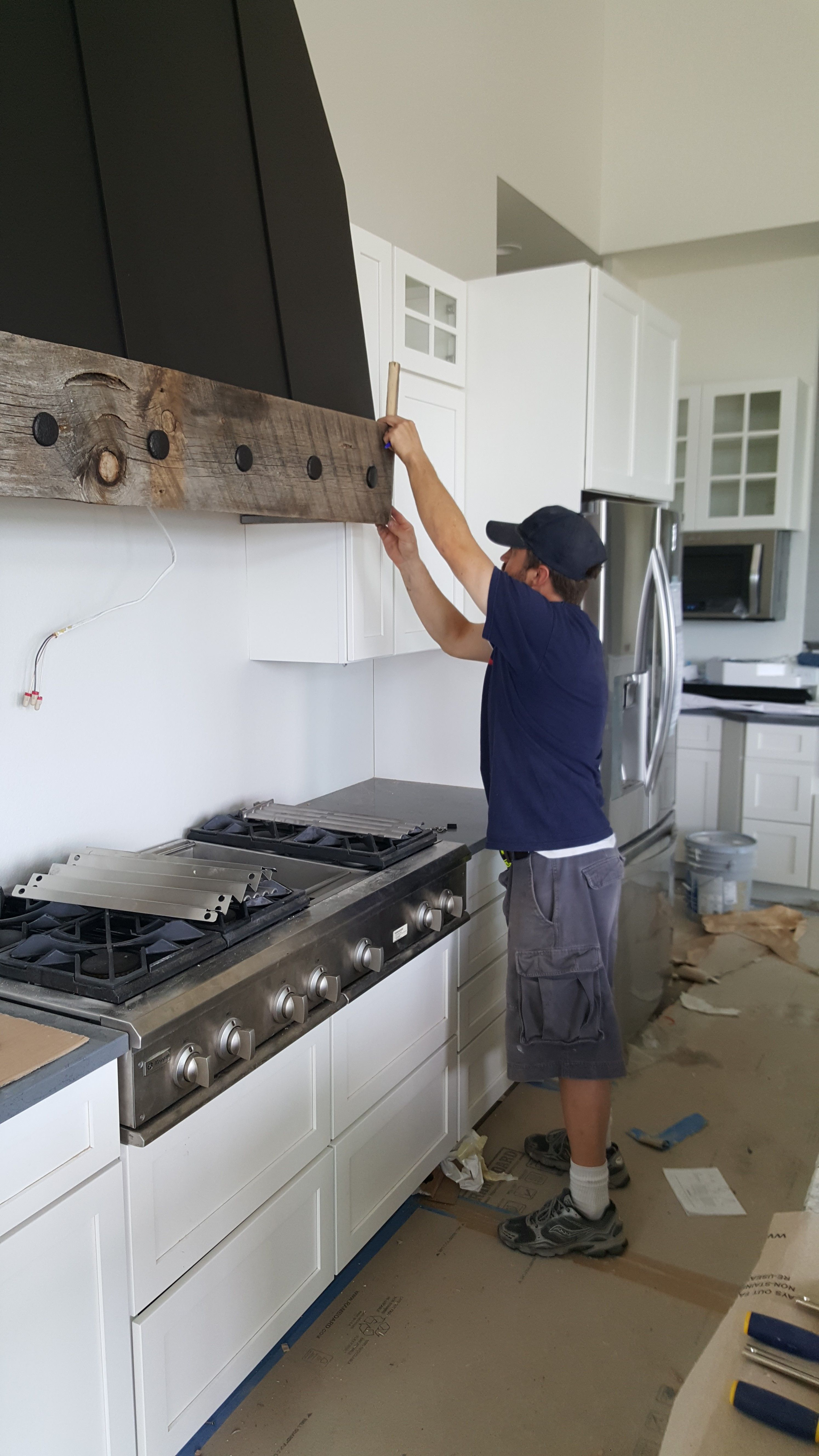 Kitchen Vent Diy Rustic Vent Hood Reclaimed Wood Vent Hood Farmhouse Vent