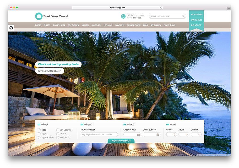 Thiết kế web đặt tour du lịch chuyên nghiệp   Thiết kế web uy tín ...