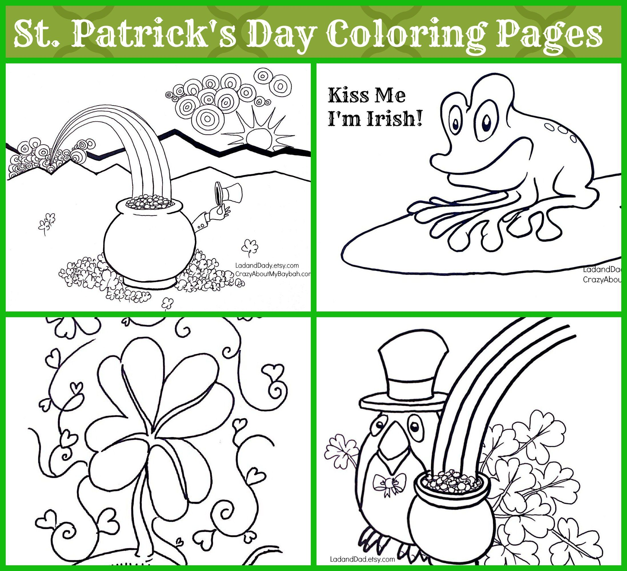St Patrick S Day Coloring Pages For Kids Coloring Pages For Kids Coloring Pages Easter Coloring Pages [ 2000 x 2195 Pixel ]