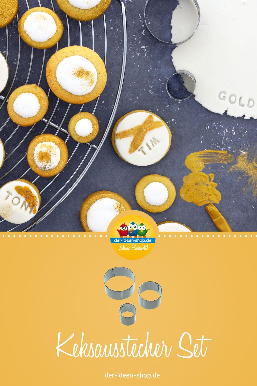 1 Ausstecher Set Rund Kekse Lebensmittelfarbe Und Marzipan