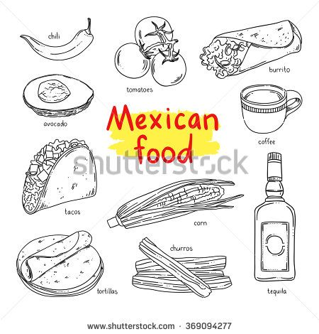 Mexican Food National Dishes Of Mexico Coffee Vegetables Tequila