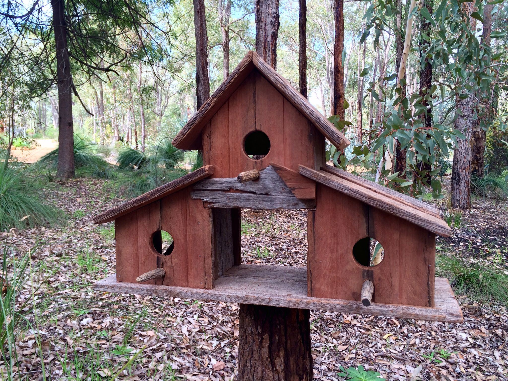 The Barn Made From Recycled Jarrah Timber Unsealed Bird Houses Bird House Bed And Breakfast