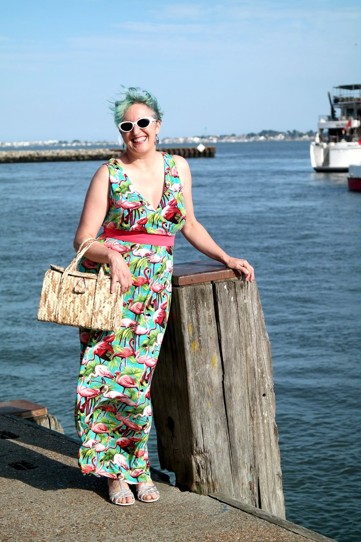 Pink flamingo maxi dress new look simplicitybyme clothes i