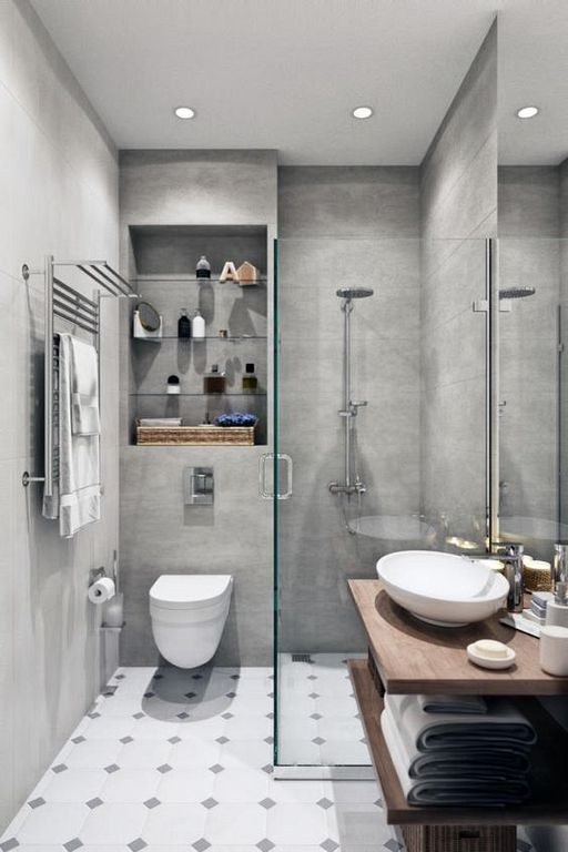 30 super cool mini bathroom ideas with simple decorations on cool small bathroom design ideas id=67193