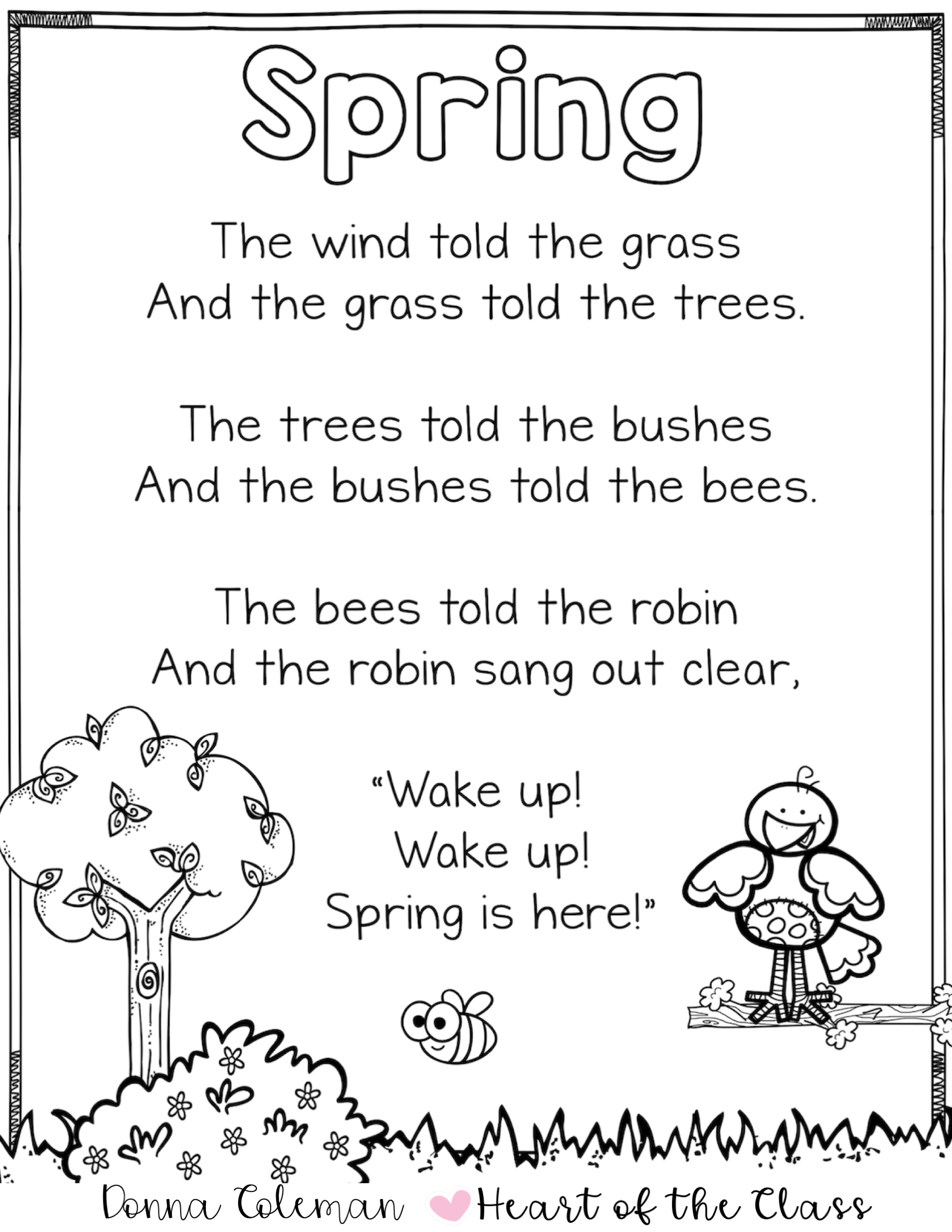 Free Download Of This Classic Spring Poem