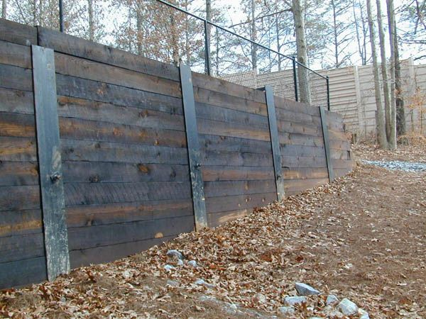 Shoring Posts For Concrete Walls : Atlanta georgia excavation grading pipe line retaining