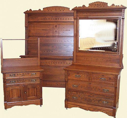 1000+ Images About Eastlake Furniture On Pinterest | Oak Beds .