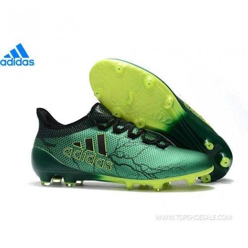 34554fde5 adidas X 17.1 FG S82289 MENS Metallic Green/Core Black/Solar Yellow SALE  FOOTBALLSHOES