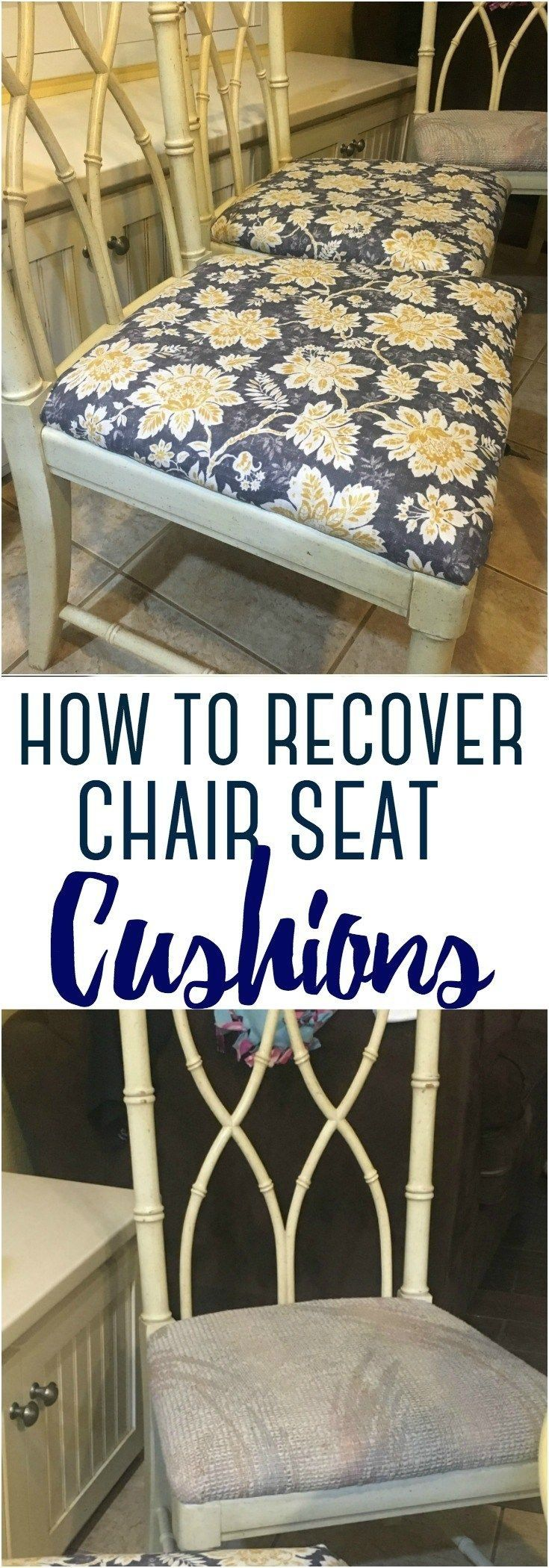How to recover chair seat cushions 1000 in 2020