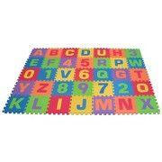 B Toys Alphabet Foam Floor Puzzle Beautifloor 26pc Play Mat Baby Play Mat Baby Activity Mat