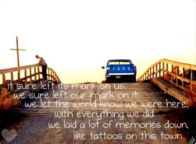 Tattoos on this Town ♥♡