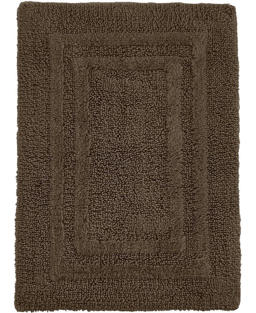 Hotel Collection Cotton Reversible 18 X 25 Bath Rug