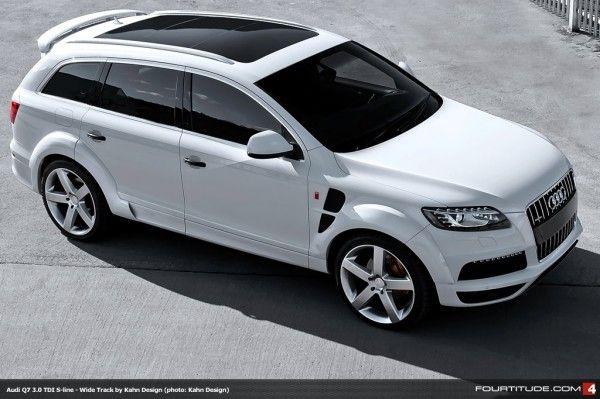 Kahn Design Adds Wide Track Treatment To Latest Audi Q7 3 0 Tdi S