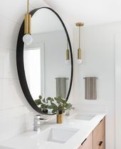 Tour a Modern Scandinavian Remodel Boasting Clean Lines and Streamlined Design  Scandinavian bathroom remodel