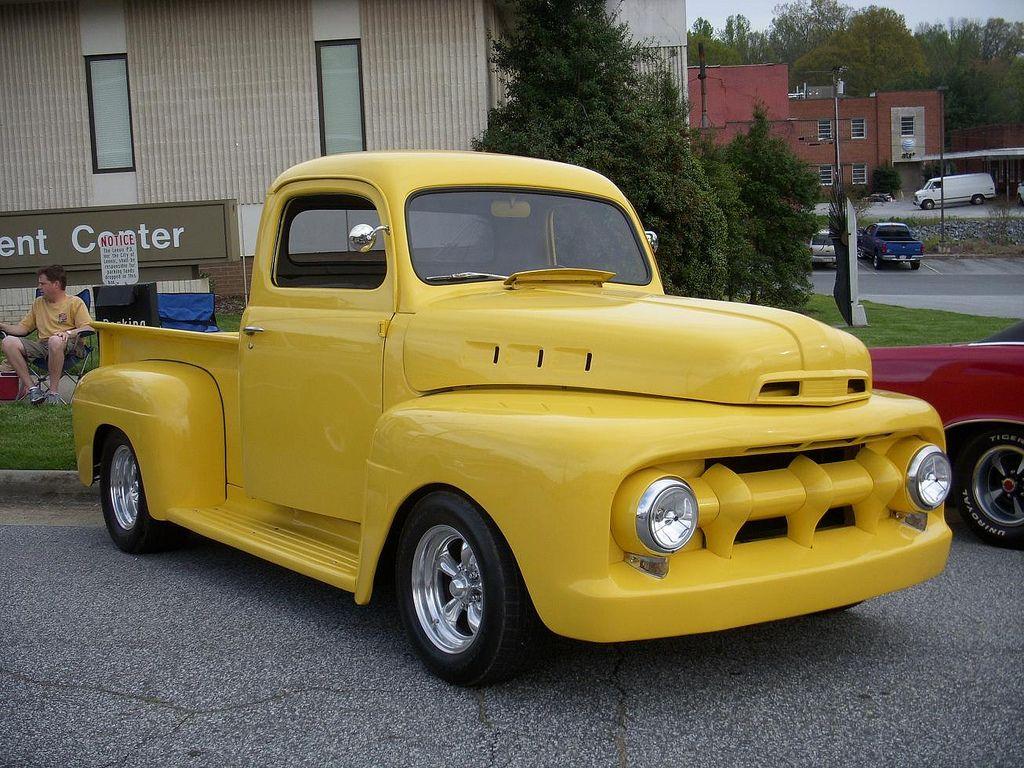 1952 Ford Pickup Ford Pickup Trucks Classic Cars Trucks