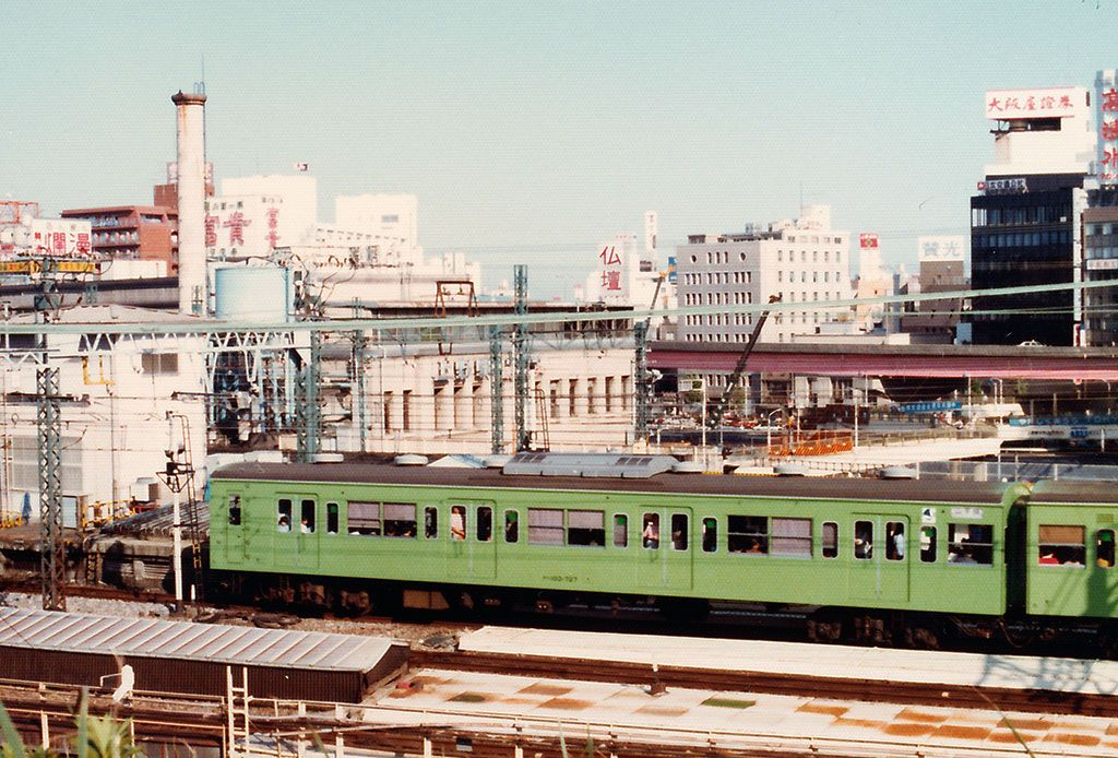 上野~秋葉原(1982年) | 風景、鉄道 写真、古写真