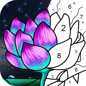 Paint By Number Free Coloring Book Puzzle Game V2 15 2 Mod Apk Coloring Books Paint By Number Coloring Pages