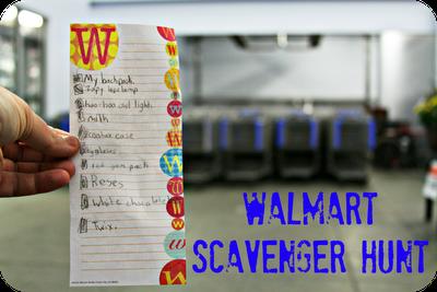 Family Fun Walmart Scavenger Hunt Scavenger Hunt Family Fun
