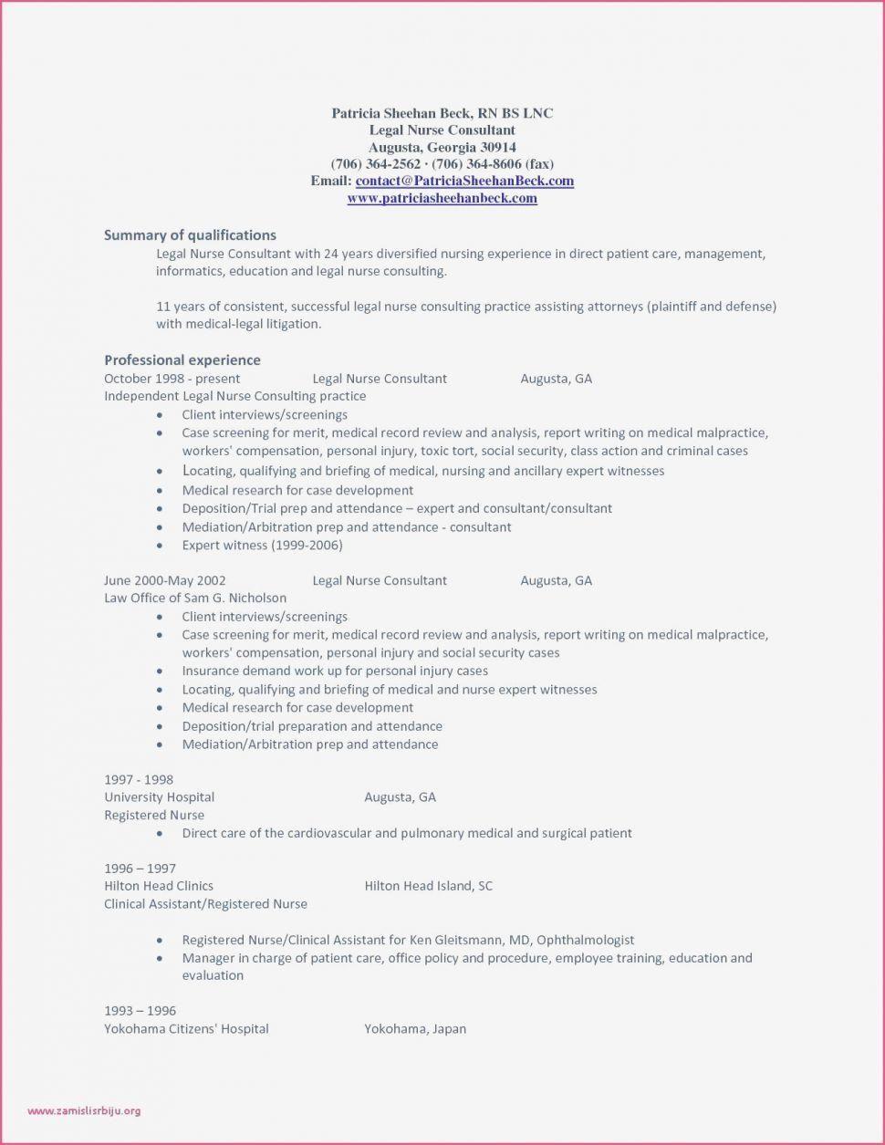 32 New Registered Nurse Resume Objectives in 2020 Legal