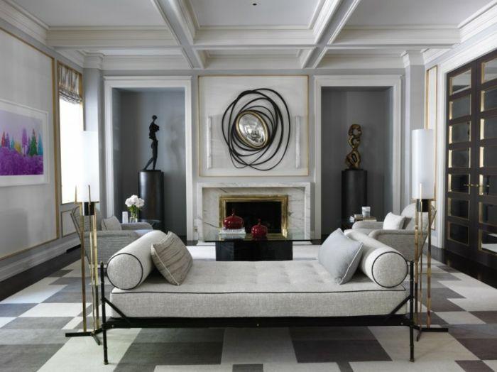 ▷ 1001 + Ideas Sobre Decoración Salón Gris Y Blanco | Front Rooms, Room And  House