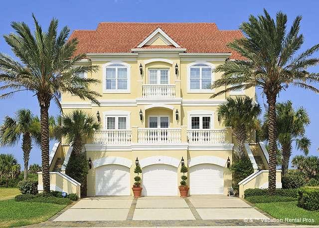 Welcome to Bella Vista Mansion in Palm Coast, Florida! In Cinnamon ...