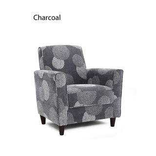 Excellent Enzo Accent Chair Sunflower Overstock Shopping Great Spiritservingveterans Wood Chair Design Ideas Spiritservingveteransorg