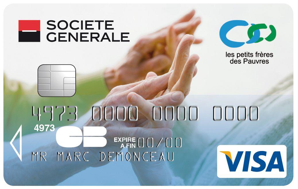 Carte Visa Societe Generale Les Petits Freres Des Pauvres