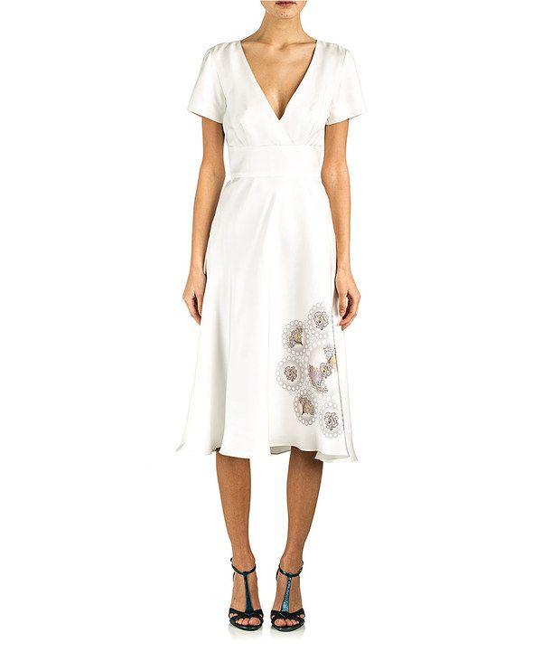 Loving This Cynthia Rowley White Medallion Silk Dress On Zulily Zulilyfinds