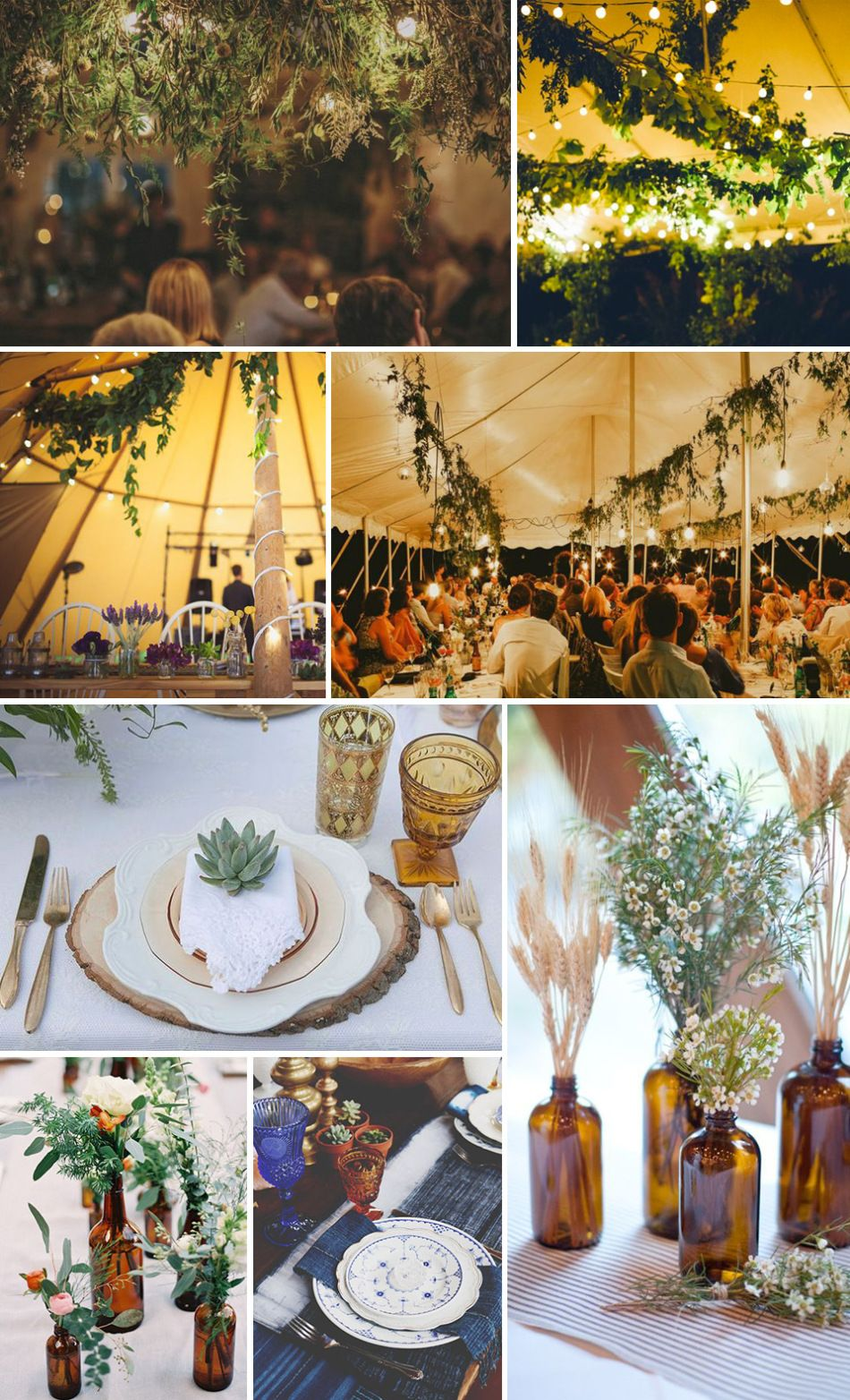 Bridal inspiration board the ultimate boho and free spirited