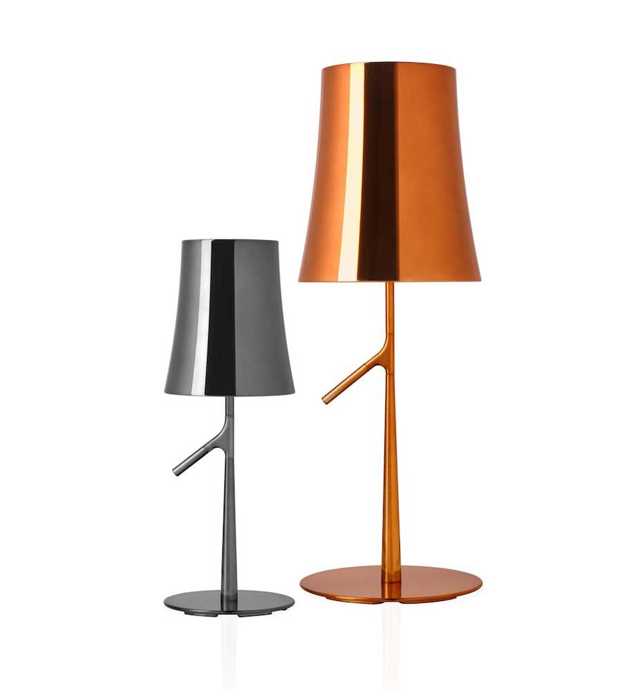 Ludovica+Roberto Palomba first designed the Birdie Table lamp for Foscarini back in 2011 and now they've added a metal version to the arsenal.