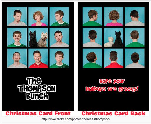 Brady Bunch Christmas Card.Brady Bunch Theme Christmas Card By My Wonderful Cousin