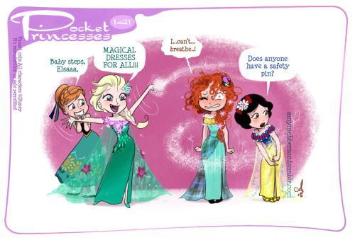 Pocket Princess 141: The Elsa CutPlease Reblog, do not...