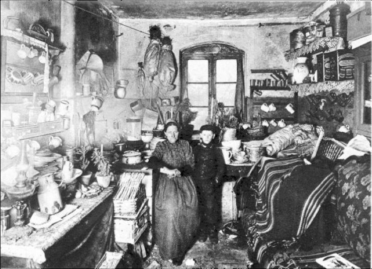 Bild Einer Arbeiterwohnung Im 19 Jahrhundert Aus Asmus
